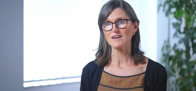 Cathie Wood says bitcoin's market cap could swell into the trillions